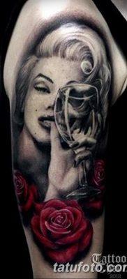 фото тату Мэрилин Монро от 08.08.2017 №051 – Tattoo Marilyn Monroe_tatufoto.com