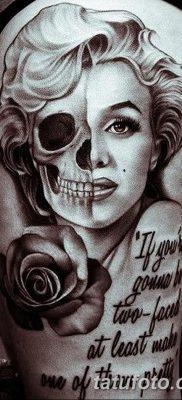 фото тату Мэрилин Монро от 08.08.2017 №052 – Tattoo Marilyn Monroe_tatufoto.com