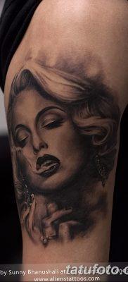 фото тату Мэрилин Монро от 08.08.2017 №055 – Tattoo Marilyn Monroe_tatufoto.com