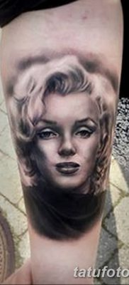фото тату Мэрилин Монро от 08.08.2017 №056 – Tattoo Marilyn Monroe_tatufoto.com