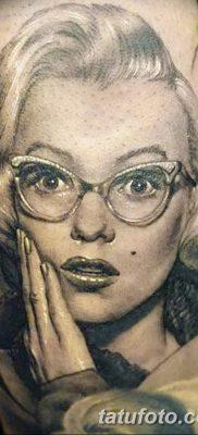 фото тату Мэрилин Монро от 08.08.2017 №057 – Tattoo Marilyn Monroe_tatufoto.com
