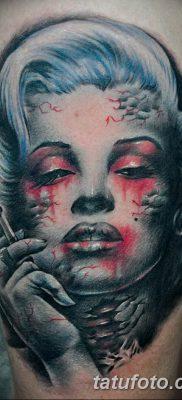 фото тату Мэрилин Монро от 08.08.2017 №059 – Tattoo Marilyn Monroe_tatufoto.com