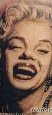 фото тату Мэрилин Монро от 08.08.2017 №062 – Tattoo Marilyn Monroe_tatufoto.com