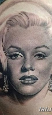 фото тату Мэрилин Монро от 08.08.2017 №085 – Tattoo Marilyn Monroe_tatufoto.com