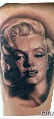 фото тату Мэрилин Монро от 08.08.2017 №086 – Tattoo Marilyn Monroe_tatufoto.com