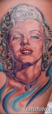 фото тату Мэрилин Монро от 08.08.2017 №089 – Tattoo Marilyn Monroe_tatufoto.com