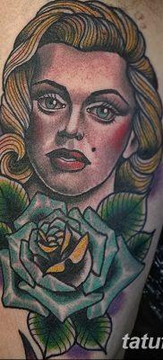 фото тату Мэрилин Монро от 08.08.2017 №091 – Tattoo Marilyn Monroe_tatufoto.com