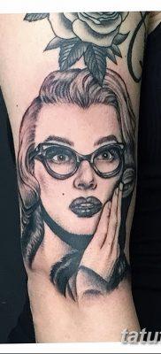фото тату Мэрилин Монро от 08.08.2017 №092 – Tattoo Marilyn Monroe_tatufoto.com
