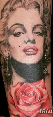 фото тату Мэрилин Монро от 08.08.2017 №093 – Tattoo Marilyn Monroe_tatufoto.com