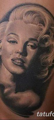 фото тату Мэрилин Монро от 08.08.2017 №095 – Tattoo Marilyn Monroe_tatufoto.com