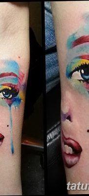 фото тату Мэрилин Монро от 08.08.2017 №097 – Tattoo Marilyn Monroe_tatufoto.com