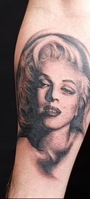 фото тату Мэрилин Монро от 08.08.2017 №098 – Tattoo Marilyn Monroe_tatufoto.com