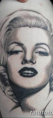 фото тату Мэрилин Монро от 08.08.2017 №101 – Tattoo Marilyn Monroe_tatufoto.com