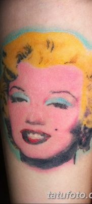 фото тату Мэрилин Монро от 08.08.2017 №102 – Tattoo Marilyn Monroe_tatufoto.com