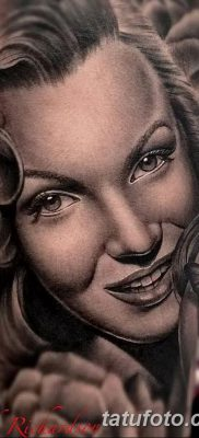 фото тату Мэрилин Монро от 08.08.2017 №105 – Tattoo Marilyn Monroe_tatufoto.com