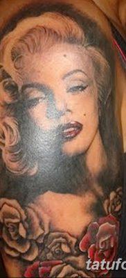 фото тату Мэрилин Монро от 08.08.2017 №106 – Tattoo Marilyn Monroe_tatufoto.com