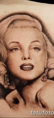 фото тату Мэрилин Монро от 08.08.2017 №109 – Tattoo Marilyn Monroe_tatufoto.com