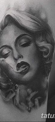 фото тату Мэрилин Монро от 08.08.2017 №110 – Tattoo Marilyn Monroe_tatufoto.com