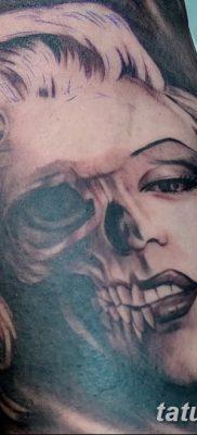 фото тату Мэрилин Монро от 08.08.2017 №111 – Tattoo Marilyn Monroe_tatufoto.com