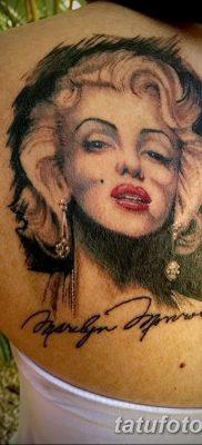 фото тату Мэрилин Монро от 08.08.2017 №114 – Tattoo Marilyn Monroe_tatufoto.com