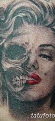фото тату Мэрилин Монро от 08.08.2017 №115 – Tattoo Marilyn Monroe_tatufoto.com