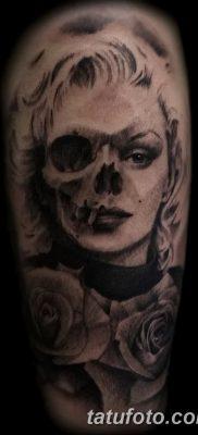 фото тату Мэрилин Монро от 08.08.2017 №116 – Tattoo Marilyn Monroe_tatufoto.com