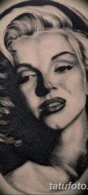 фото тату Мэрилин Монро от 08.08.2017 №117 – Tattoo Marilyn Monroe_tatufoto.com