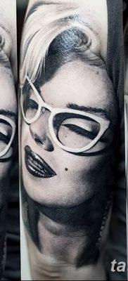 фото тату Мэрилин Монро от 08.08.2017 №118 – Tattoo Marilyn Monroe_tatufoto.com
