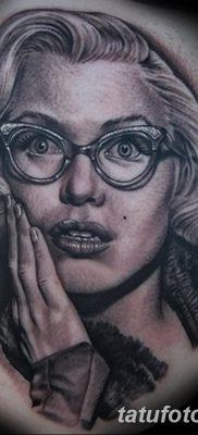 фото тату Мэрилин Монро от 08.08.2017 №120 – Tattoo Marilyn Monroe_tatufoto.com