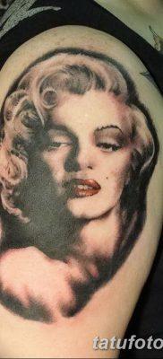 фото тату Мэрилин Монро от 08.08.2017 №121 – Tattoo Marilyn Monroe_tatufoto.com