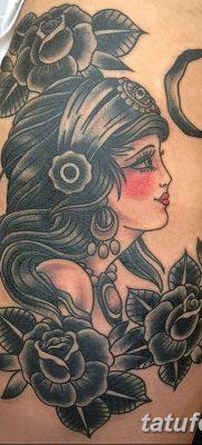 фото тату в стиле олд скул от 21.08.2017 №001 – Old school tattoo – tatufoto.com