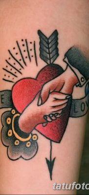 фото тату в стиле олд скул от 21.08.2017 №006 – Old school tattoo – tatufoto.com
