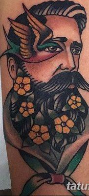 фото тату в стиле олд скул от 21.08.2017 №008 – Old school tattoo – tatufoto.com
