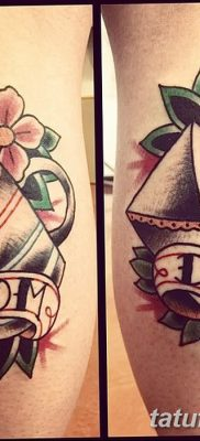 фото тату в стиле олд скул от 21.08.2017 №010 – Old school tattoo – tatufoto.com