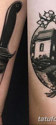 фото тату в стиле олд скул от 21.08.2017 №011 – Old school tattoo – tatufoto.com