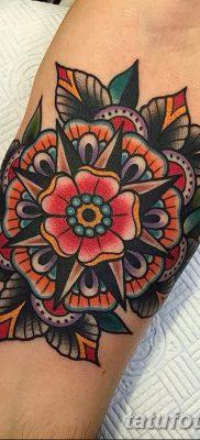 фото тату в стиле олд скул от 21.08.2017 №017 – Old school tattoo – tatufoto.com