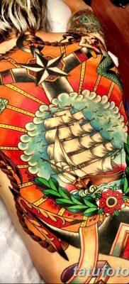 фото тату в стиле олд скул от 21.08.2017 №019 – Old school tattoo – tatufoto.com