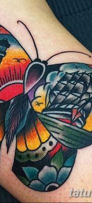 фото тату в стиле олд скул от 21.08.2017 №020 – Old school tattoo – tatufoto.com
