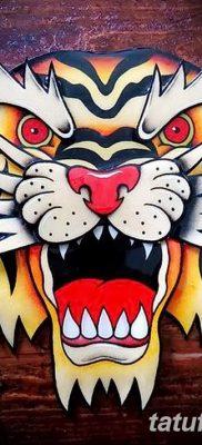 фото тату в стиле олд скул от 21.08.2017 №021 – Old school tattoo – tatufoto.com