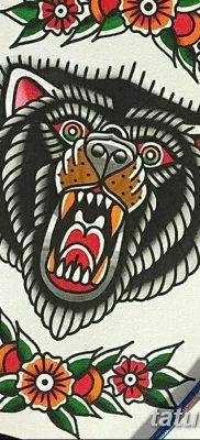фото тату в стиле олд скул от 21.08.2017 №045 – Old school tattoo – tatufoto.com
