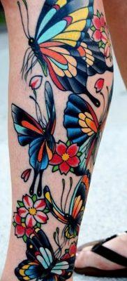 фото тату в стиле олд скул от 21.08.2017 №046 – Old school tattoo – tatufoto.com