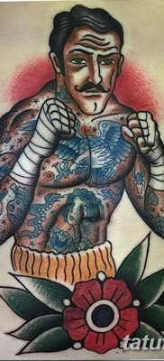 фото тату в стиле олд скул от 21.08.2017 №049 – Old school tattoo – tatufoto.com
