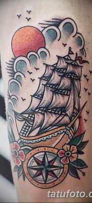 фото тату в стиле олд скул от 21.08.2017 №050 – Old school tattoo – tatufoto.com