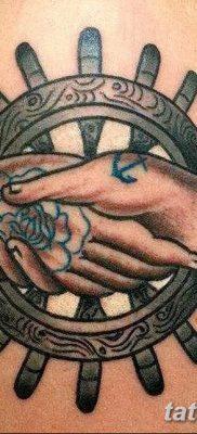 фото тату в стиле олд скул от 21.08.2017 №064 – Old school tattoo – tatufoto.com