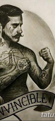 фото тату в стиле олд скул от 21.08.2017 №067 – Old school tattoo – tatufoto.com