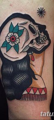 фото тату в стиле олд скул от 21.08.2017 №074 – Old school tattoo – tatufoto.com