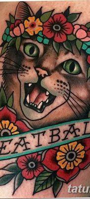 фото тату в стиле олд скул от 21.08.2017 №109 – Old school tattoo – tatufoto.com