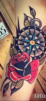 фото тату в стиле олд скул от 21.08.2017 №110 – Old school tattoo – tatufoto.com