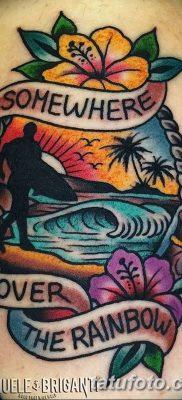 фото тату в стиле олд скул от 21.08.2017 №111 – Old school tattoo – tatufoto.com