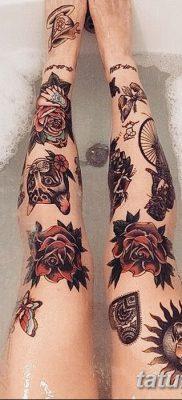 фото тату в стиле олд скул от 21.08.2017 №112 – Old school tattoo – tatufoto.com